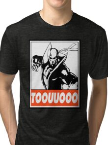 Iron Fist Toouuooo Obey Design Tri-blend T-Shirt