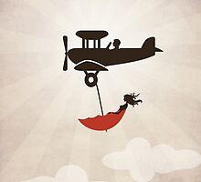 My Tuesday Dream - Umbrella Fantasy by Paula Belle Flores