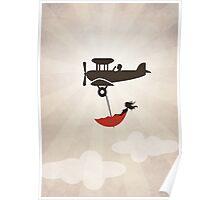 My Tuesday Dream - Umbrella Fantasy Poster