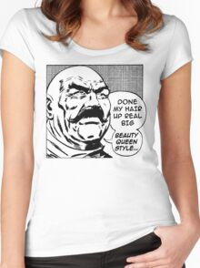 Big Beauty Queen Style! Women's Fitted Scoop T-Shirt