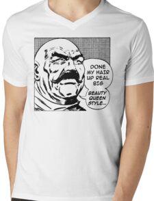 Big Beauty Queen Style! Mens V-Neck T-Shirt