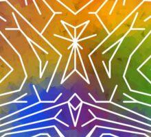 Rainbow Brain Sticker