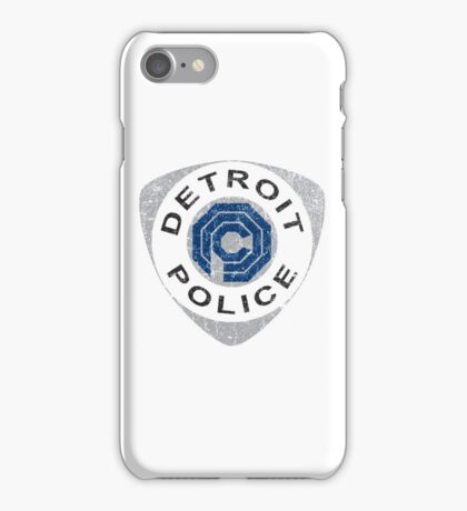 Detroit Police - Robocop iPhone Case/Skin