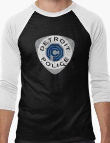 Detroit Police - Robocop Men's Baseball ¾ T-Shirt