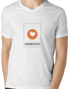 I Love Washington DC Mens V-Neck T-Shirt