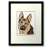 German Shepard Framed Print
