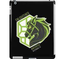 Enlightened Interitus Dark Horse Logo iPad Case/Skin