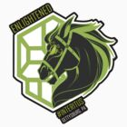Enlightened Interitus Dark Horse Logo by CupcakeCreature