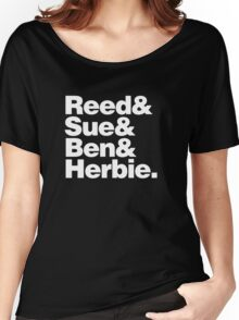 Reed&Sue&Ben&...Herbie! Women's Relaxed Fit T-Shirt