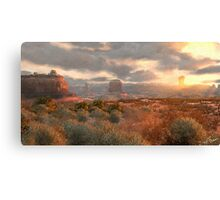 Red Dead Redemption: Valley of the Ancients Canvas Print