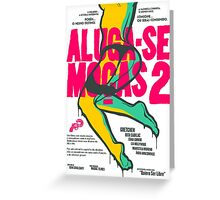 Aluga-se Mocas 2 Greeting Card