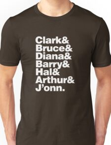 JLA - America's League of Justice T-Shirt