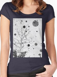 Orb Reporting Photograph #6 Women's Fitted Scoop T-Shirt