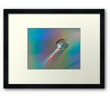 Photonic Emission Framed Print