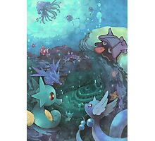 Pokémon - Water type Photographic Print