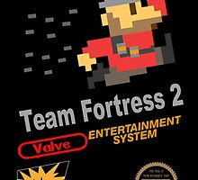 Team Fortress 2 - NES by Thalia Bristow