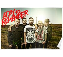 A Day to Remember Poster Poster