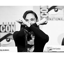 Gal Gadot - Comic Con - Wonder Woman Poster Photographic Print