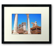 Caesars Palace in Las Vegas, Nevada Framed Print