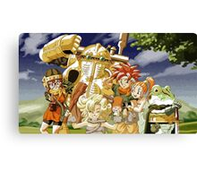 Chrono Trigger Cast Canvas Print