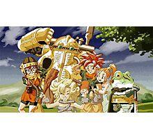 Chrono Trigger Cast Photographic Print