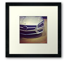 Mercedes SL  Framed Print