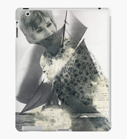 Fond Memories of Fine Wines and Sailing Ships iPad Case/Skin