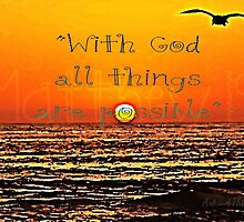"""""""With God..."""" by Sharon Soberon"""