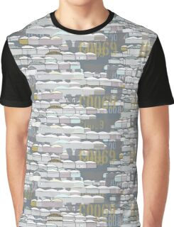 oil tanks in the port of amsterdam Graphic T-Shirt