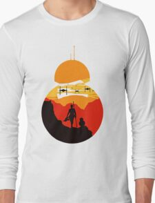 Star Wars VII - BB8 & Rey 2 Long Sleeve T-Shirt