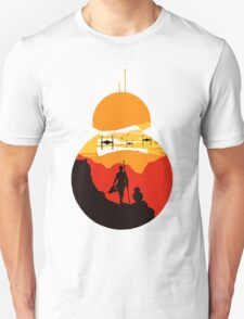 Star Wars VII - BB8 & Rey 2 Unisex T-Shirt