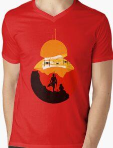 Star Wars VII - BB8 & Rey 2 Mens V-Neck T-Shirt