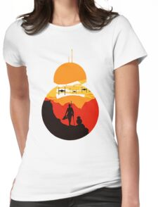 Star Wars VII - BB8 & Rey 2 Womens Fitted T-Shirt