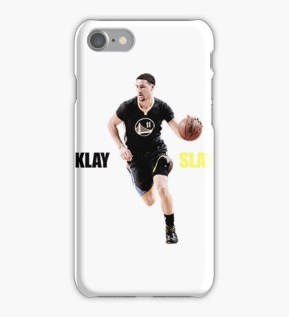 Klay Slays iPhone Case/Skin