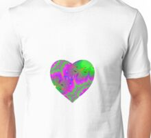 Trippy heart Unisex T-Shirt