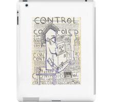 control iPad Case/Skin