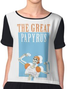 THE GREAT PAPYRUS Chiffon Top