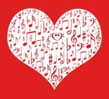 Love music Baby Tee