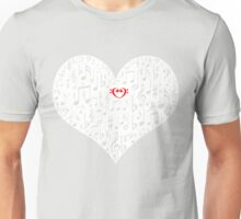 Love music Unisex T-Shirt