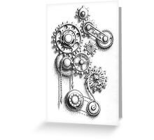 Cogs #5 Greeting Card