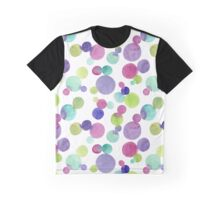 Bulles de couleur Graphic T-Shirt