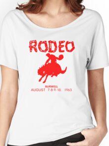 CASSIDY'S BURWELL RODEO SHIRT PREACHER Women's Relaxed Fit T-Shirt