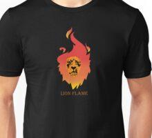 Majestic Flaming Lion Unisex T-Shirt