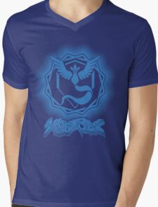 Team Mystic - Pokémon Go Mens V-Neck T-Shirt