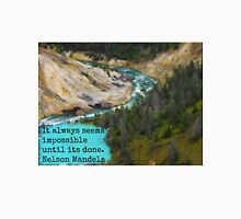 A River in Yellowstone Unisex T-Shirt