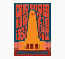 1960's Psychedelic San Francisco Coit Tower Unisex T-Shirt