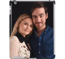 Emma and Killian - Captain Swan - Comic Con Poster iPad Case/Skin