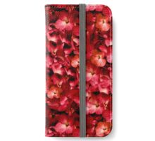 Warm Floral Collage Print iPhone Wallet/Case/Skin