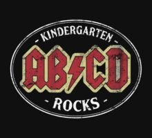 Vintage Kindergarten Rocks - dark by medallion