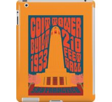 1960's Psychedelic San Francisco Coit Tower iPad Case/Skin